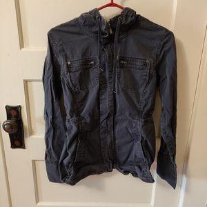 mec  zipper light jacket hoodie size 10